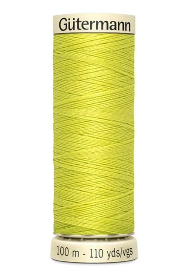 712 Lime ~ Sew-All Gutermann Polyester Thread ~ 100 Meters