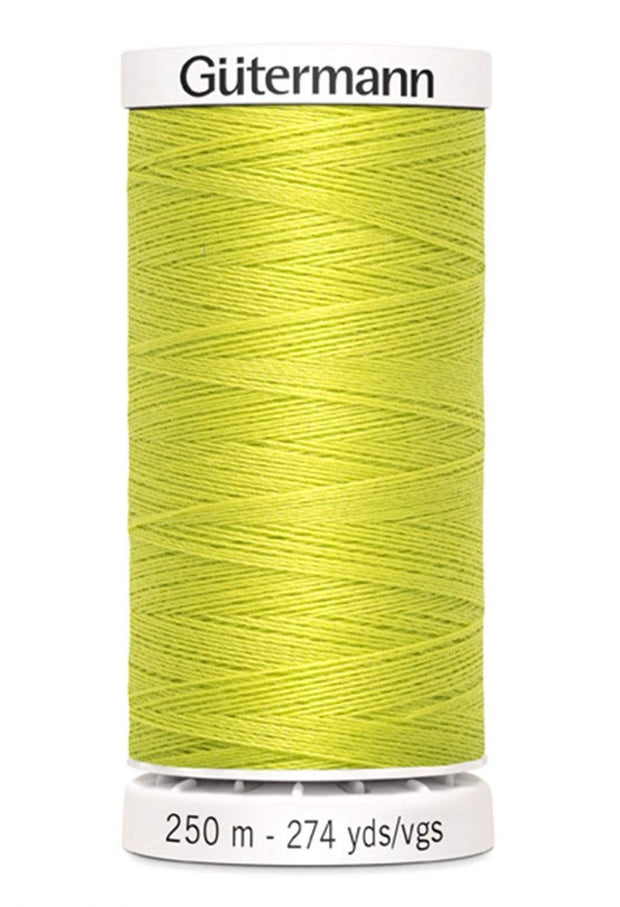 712 Lime ~ Sew-All Gutermann Polyester Thread ~ 250 Meters