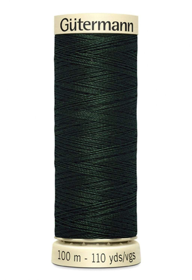 792 Forest Green ~ Sew-All Gutermann Polyester Thread ~ 100 Meters