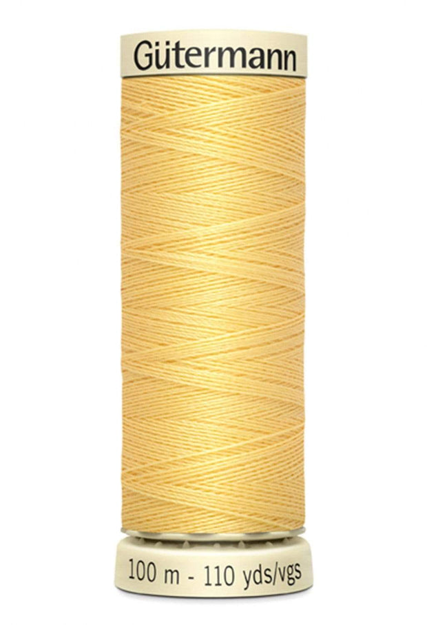 816 Primrose ~ Sew-All Gutermann Polyester Thread ~ 100 Meters