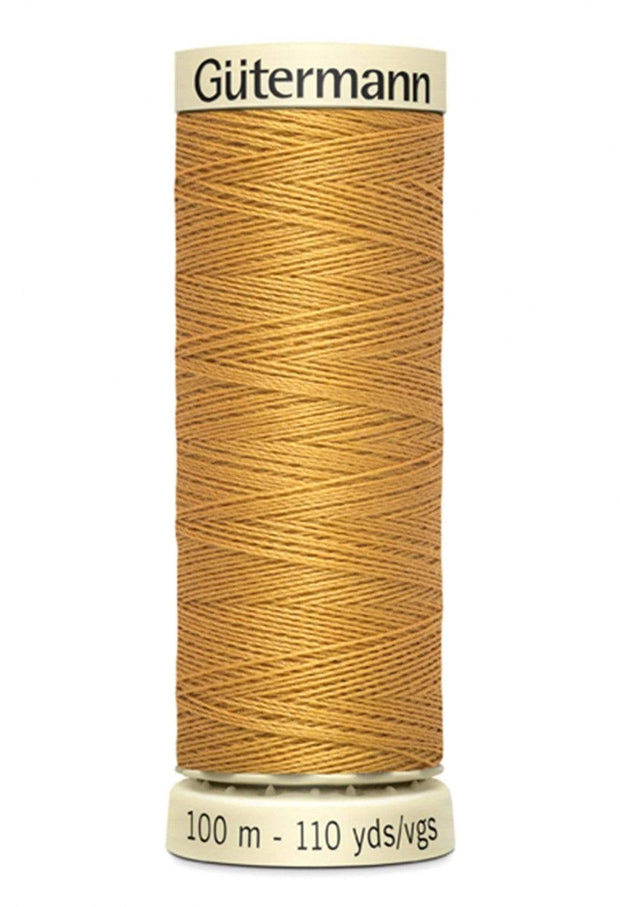 865 Gold ~ Sew-All Gutermann Polyester Thread ~ 100 Meters