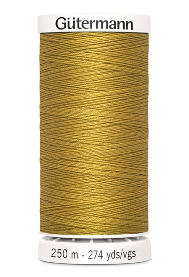 865 Gold ~ Sew-All Gutermann Polyester Thread ~ 250 Meters
