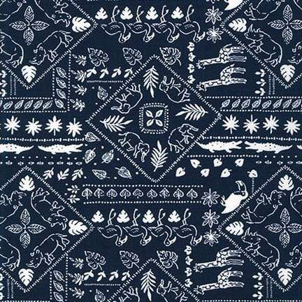 Animal Club - in Navy - Robert Kaufman