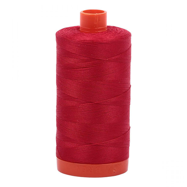 Aurifil 50-Weight Cotton Thread ~ Red 2250