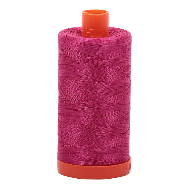 Aurifil 50-Weight Cotton Thread ~ Red Plum 1100