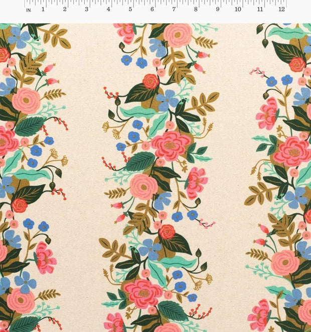 Canvas ~ Garden Vines in Cream ~ English Garden by Rifle Paper Co.
