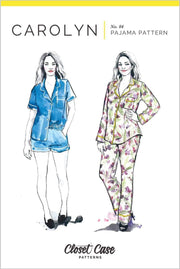 Carolyn Pajamas, Closet Case Patterns