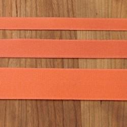 Carrot Cotton Ribbon with Satin Finish