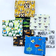 Ed Emberley Organic Cotton Fat Quarter Bundle