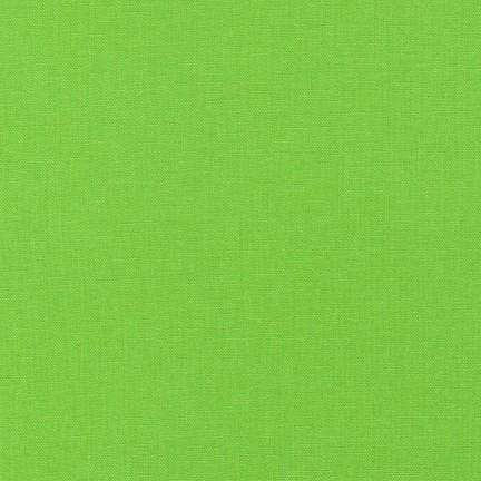 Essex Linen Cotton Blend Solid in Chartreuse