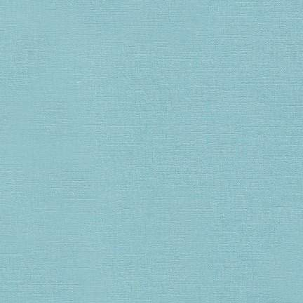 Essex Linen Cotton Blend Solid in Dusty Blue