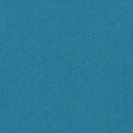 Essex Linen Cotton Blend Solid in Teal