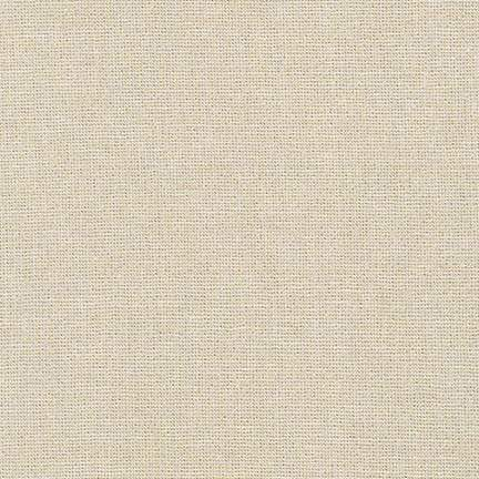Essex Metallic Linen Cotton Blend in Sand