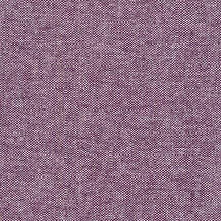 Essex Yarn Dyed Linen Cotton Blend in Eggplant