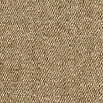 Essex Yarn Dyed Linen Cotton Blend in Taupe