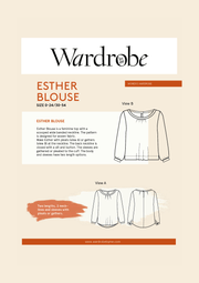 Esther Blouse - Wardrobe by Me