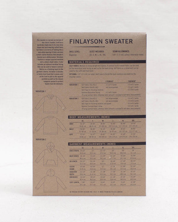 Finlayson Sweater - Thread Theory
