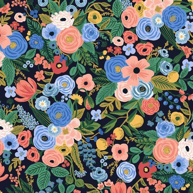 Garden Party in Navy - Wildwood by Rifle Paper Co.