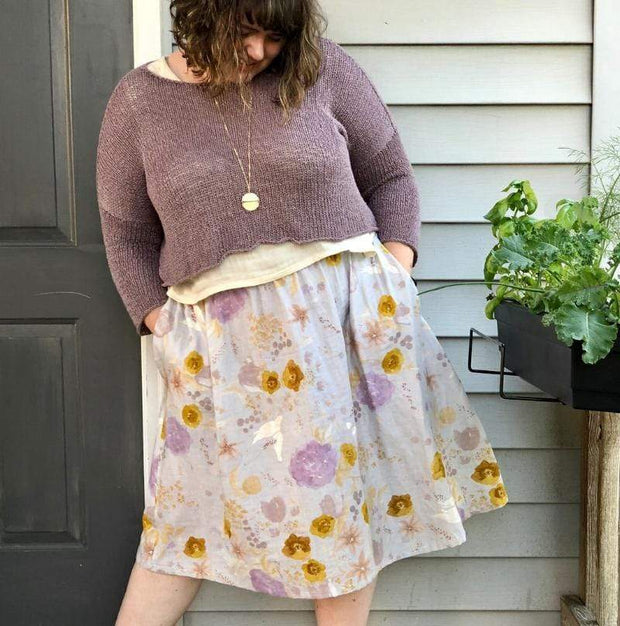 Gypsum Skirt, Sew Liberated