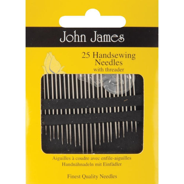 Hand Sewing, Assorted, 25 Count, John James