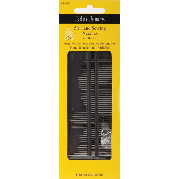 Hand Sewing, Assorted, 50 Count, John James