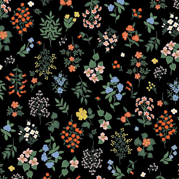 Hawthorn in Black - Strawberry Fields by Rifle Paper Co.
