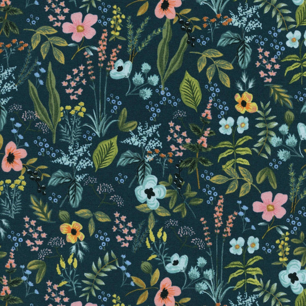 Herb Garden in Navy - Amalfi by Rifle Paper Co.