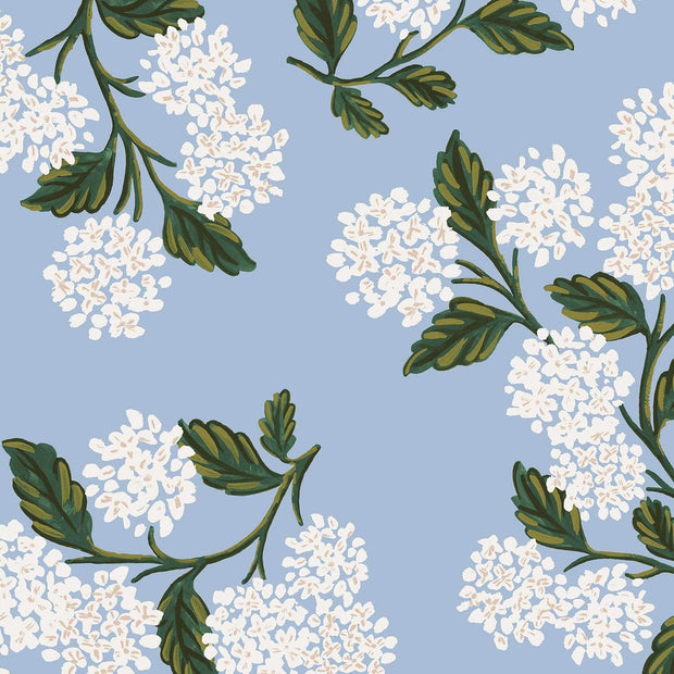Hydrangea in Light Blue ~ Meadow by Rifle Paper Co.