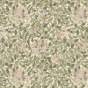 Honeysuckle in Green ~ Granada from The Original Morris & Co.