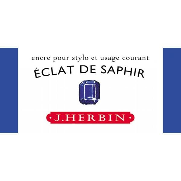 J. Herbin, 10ml bottle, Sapphire Shadow