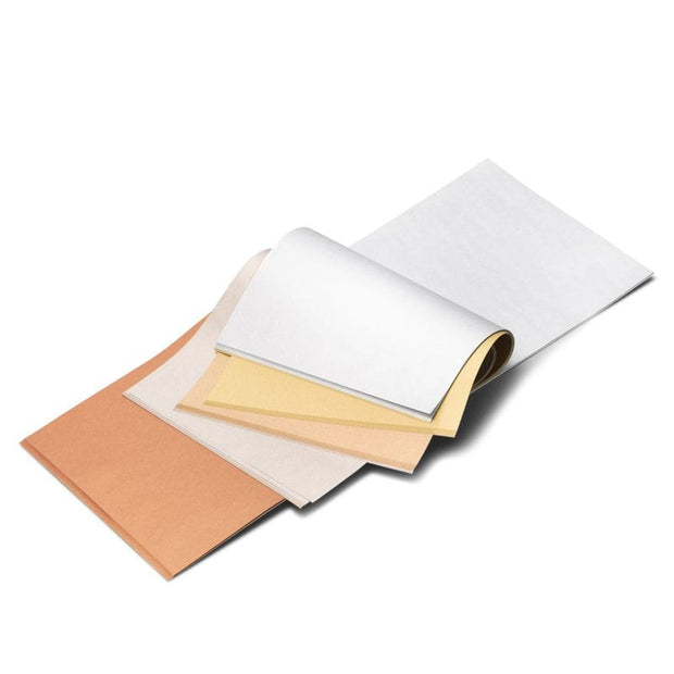 "Japanese Silk Tissue Paper Pad in Metallic Colors - 6.3"" x 6.3"""