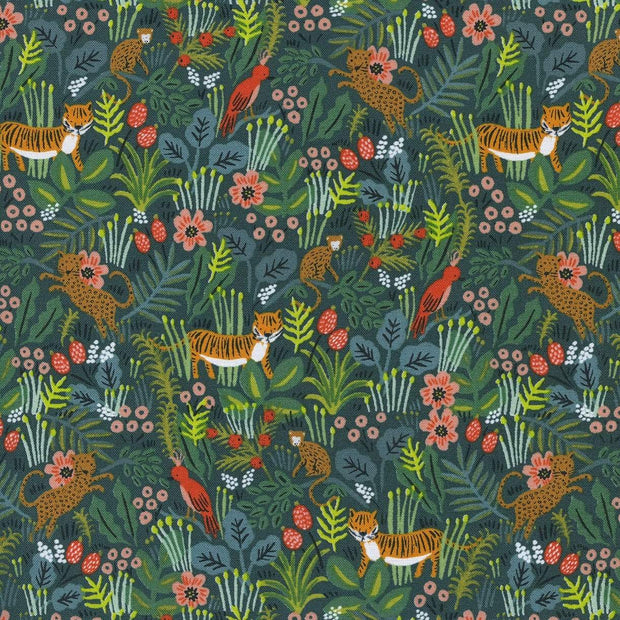 Jungle in Hunter ~ Menagerie by Rifle Paper Co.