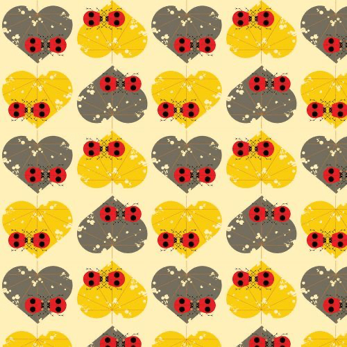 Ladybug Lovers from Lakehouse Vol 2, Charley Harper