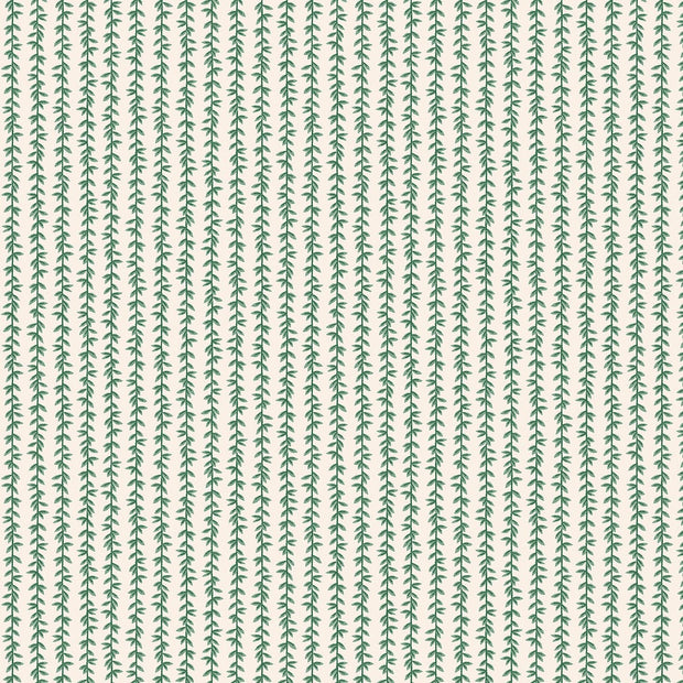Laurel Stripe in Cream - Strawberry Fields by Rifle Paper Co.
