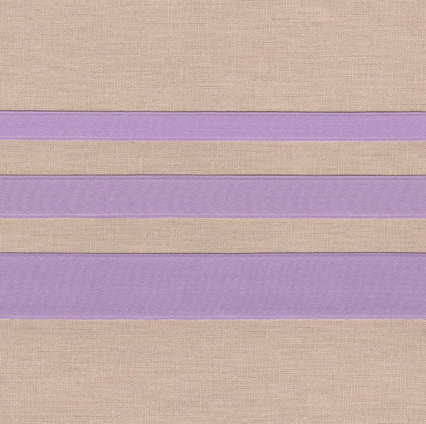 "3/8"" wide Lilac Cotton Ribbon with Satin Finish"