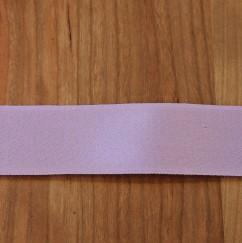 Lilac Cotton Ribbon with Satin Finish