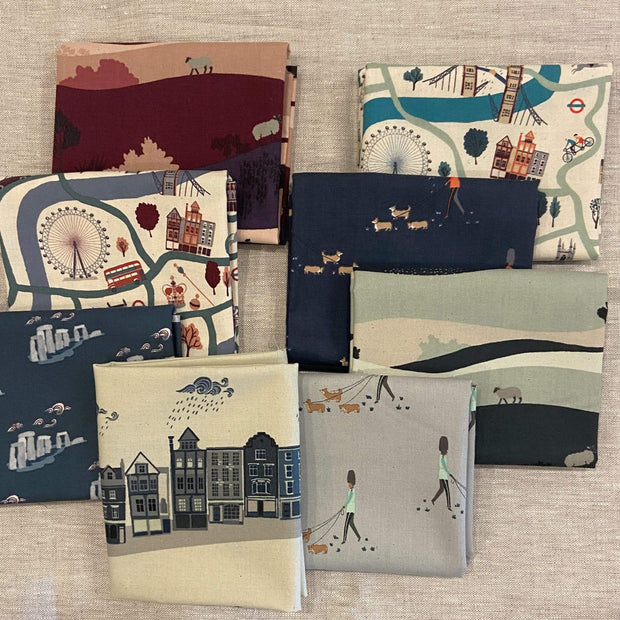 London Town Fat Quarter Bundle