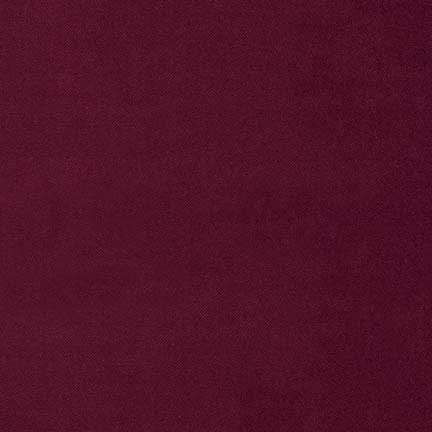 Lush Velveteen in Cabernet from Robert Kaufman
