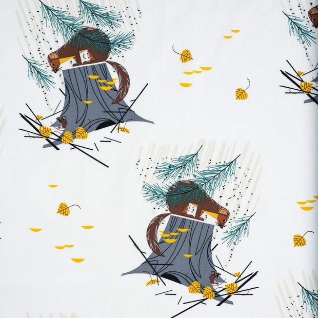 Mischief Maker of the Woods from Charley Harper Holiday