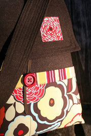 Mischievous Gnome Messenger Bag, Sew Liberated