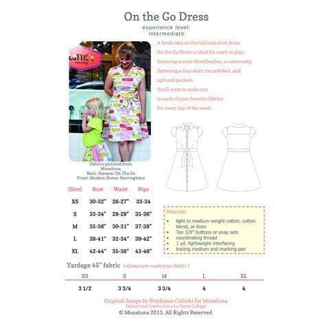 On the Go Dress, Monaluna