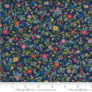 Packed Floral in Navy ~ Lulu ~ MODA