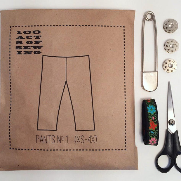 Pants No. 1, 100 Acts of Sewing