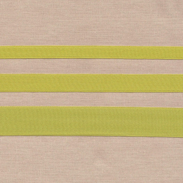 "3/8"" wide Pear Cotton Ribbon with Satin Finish"
