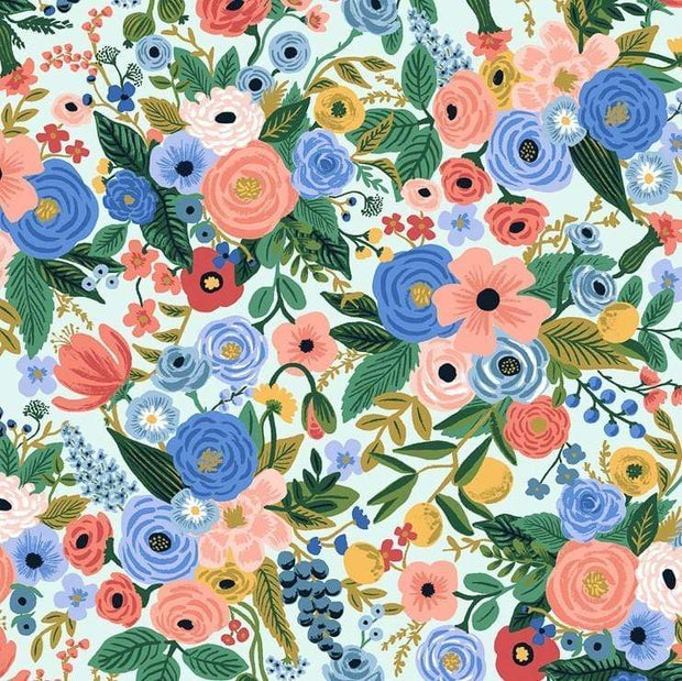 Petite Garden Party in Blue - Wildwood by Rifle Paper Co.