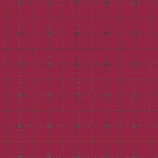 Plaid in Ruby ~ Entwine from Giucy Giuce ~ Woven Yarn-Dyed Dobby