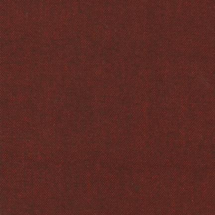 Plain Weave in Maroon, Shetland Flannel from Robert Kaufman