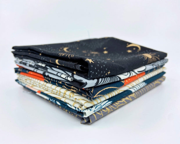Prints from Florida - Red Tones - Fat Quarter Bundle - Sara Watts