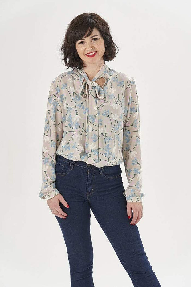 Pussy Bow Blouse, Sew Over It