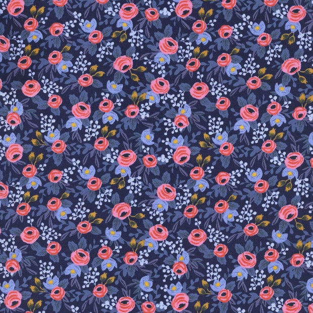 Rosa in Navy ~ Les Fleurs by Rifle Paper Co.